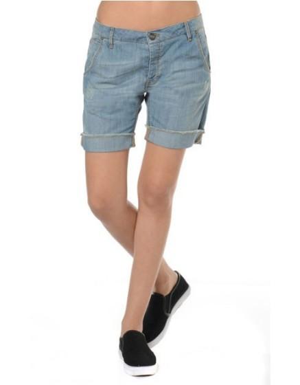 Reiko bermuda jeans ultra leger