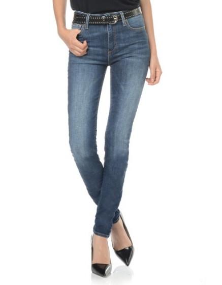 REIKO jean skinny taille haute Arnel