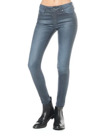 Jean skinny enduit Noemie - BLUE