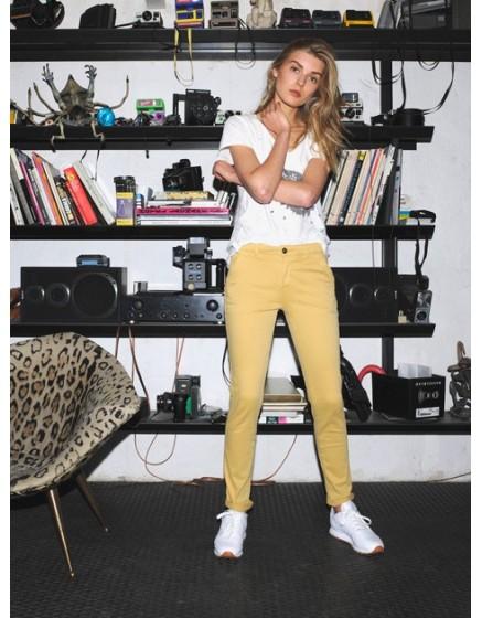 Pantalon chino SANDY - BLE