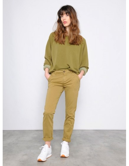 Pantalon chino SANDY - OLIVE