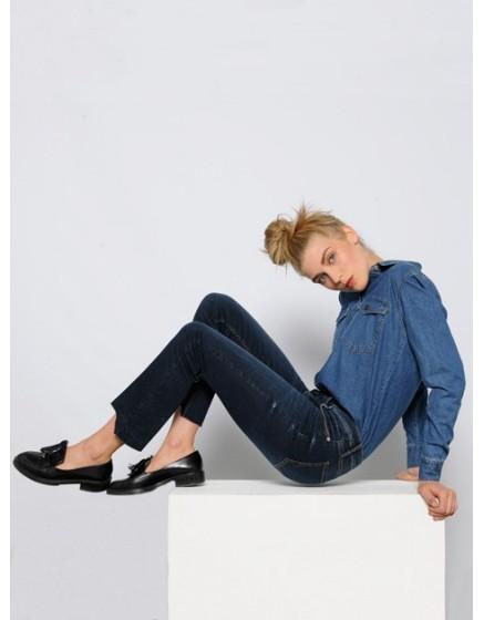 Jean Straight Cropped Prue