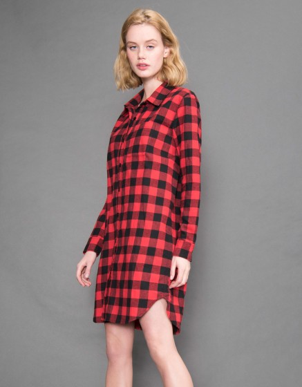 Shirt dress Clark - Couleur unique