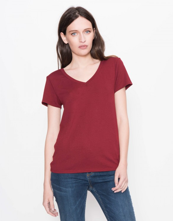 T-shirt Tory - LIPSTICK RED