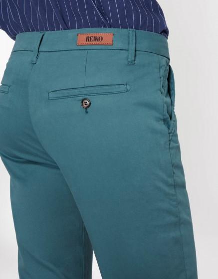 Pantalon chino Sandy Basic - BLUE STORM