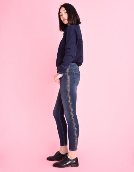 Jean taille haute Anry Herring - DENIM BLUE