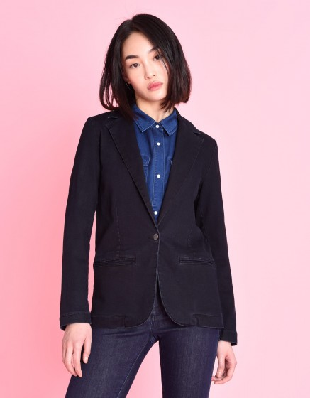 Veste blazer Blair Indigo - DENIM BB-01