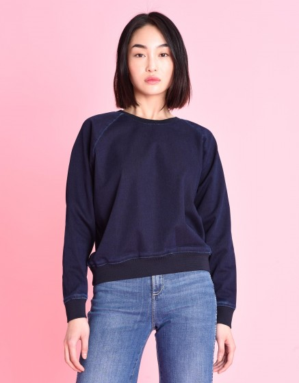 Sweat Pearly Fleece - INDIGO