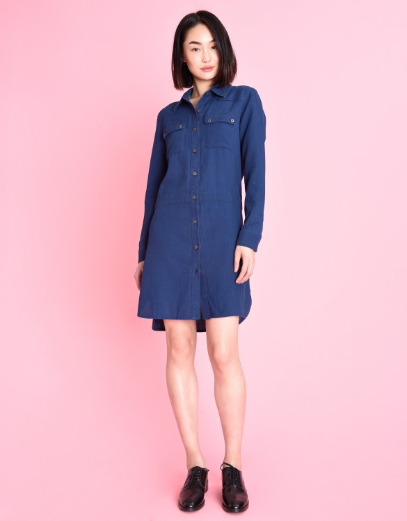 Randy denim dress - INDIGO