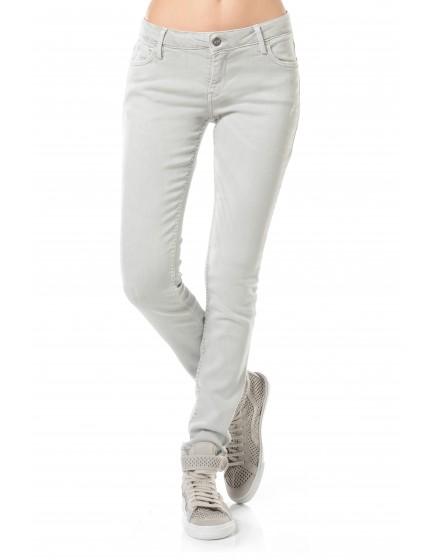 Pantalon skinny couleur Moana - MASTIC