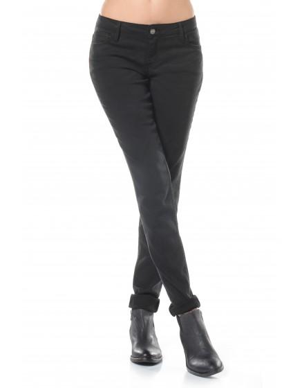 Pantalon slim couleur Nahel - BLACK
