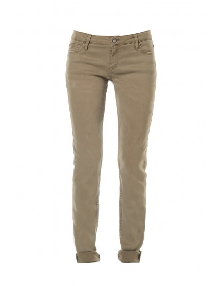 Pantalon slim couleur Nahel - KAKI