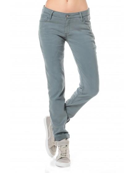 Pantalon slim couleur Nahel - MENTHE