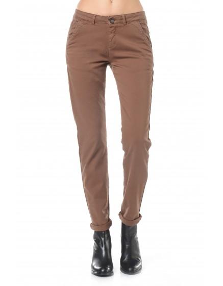 Pantalon chino Sandy - HAVANE