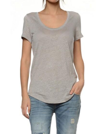 Reiko T-shirt lin - ROCHER