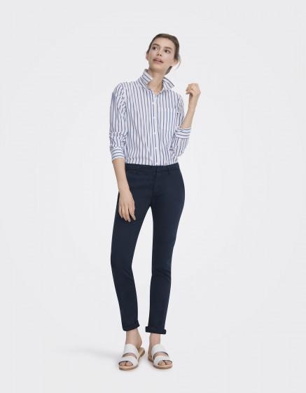 Pantalon chino Sandy Basic 2 - DARK NAVY
