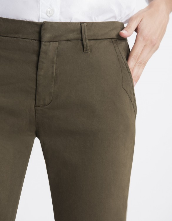 Chino Trousers Sandy Basic 2 - DARK KAKI