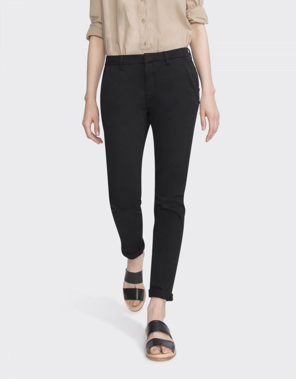Chino Trousers Sandy Basic 2 - BLACK