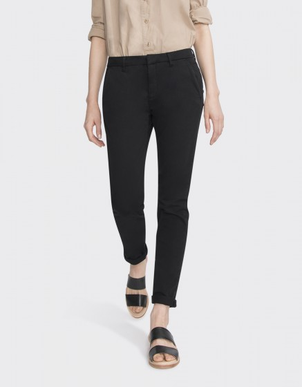 Pantalon chino Sandy Basic 2 - BLACK