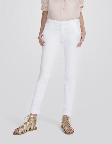 Chino Trousers Sandy Basic 2 - WHITE