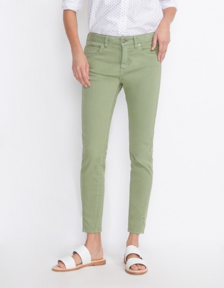 Jean skinny cropped Daytona - MILITARY GREEN