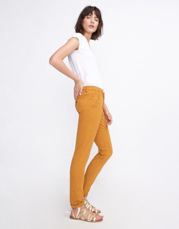 Chino Trousers Sandy Basic 2 - CINNAMON