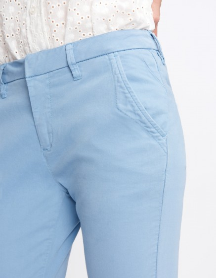 Pantalon chino Sandy Basic 2 - AZUR
