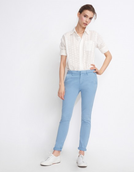 Chino Trousers Sandy Basic 2 - AZUR