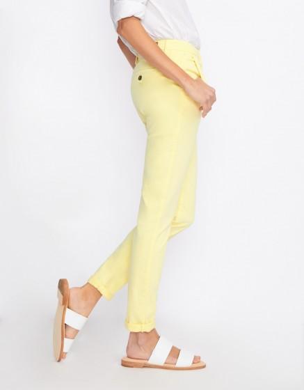 Chino Trousers Sandy Basic 2 - JAUNE PAILLE