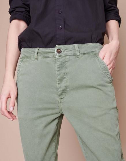 Pantalon chino Scott - MILITARY GREEN