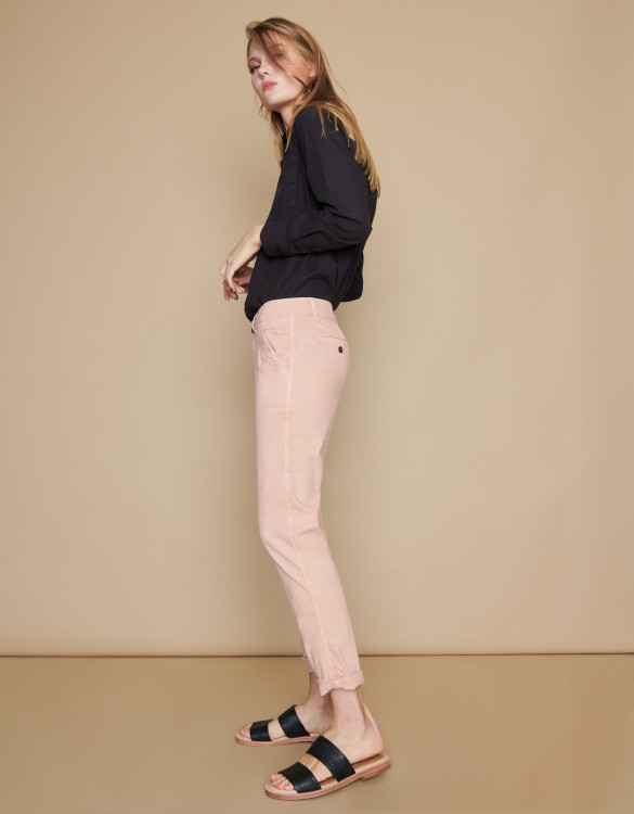 Chino Trousers Scott - SMOKY PINK