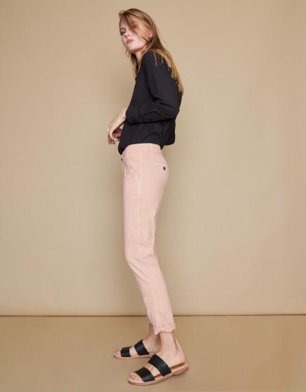 Chino Trousers Scott - SMOKY PINK