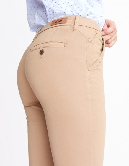 Pantalon chino Sandy Basic 2 - MOKA