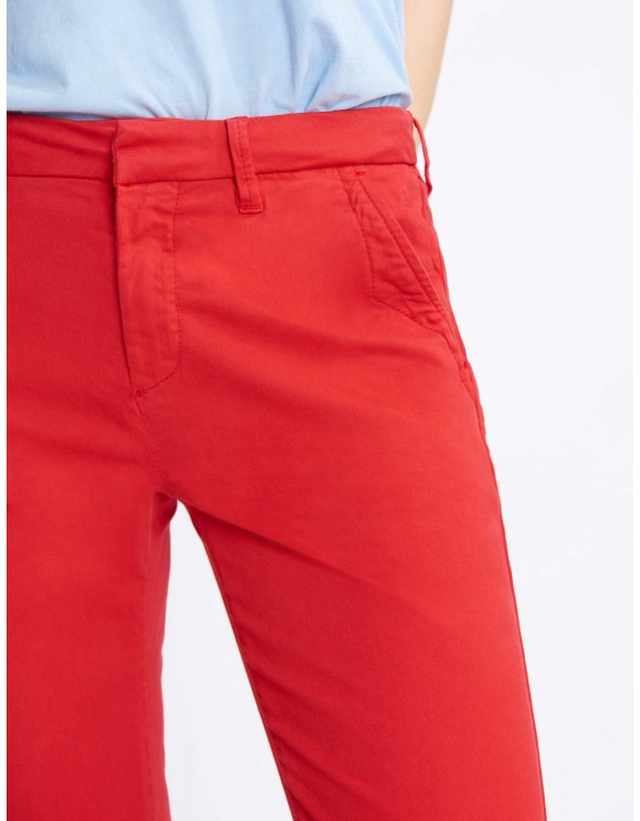 Chino Trousers Sandy Basic 2 - VERMILLON