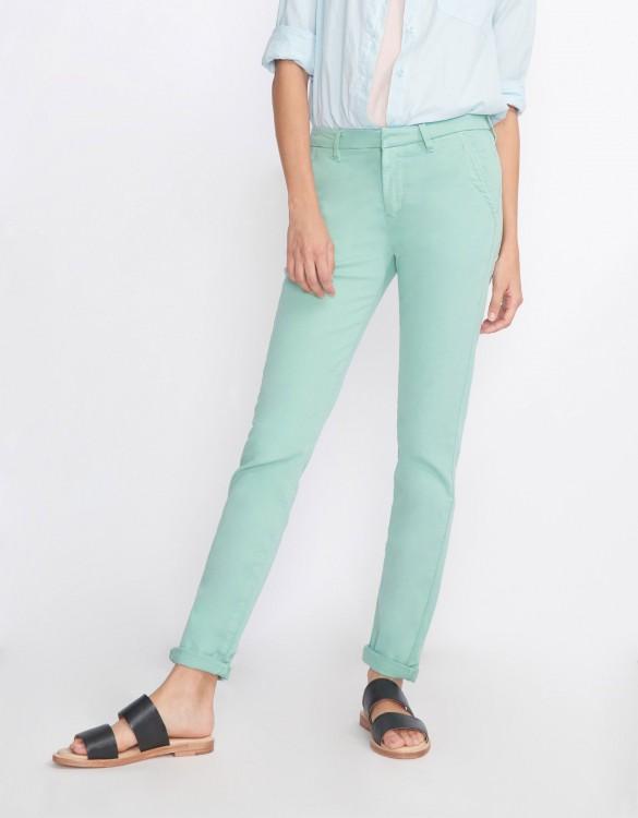 Pantalon chino Sandy Basic 2 - VERT JADE