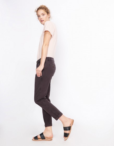 Chino Trousers Scott - CARBONE