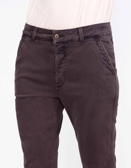 Chino Trousers Scott - CARBONE
