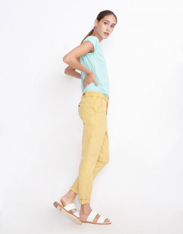 Pantalon chino Scott - MUSTARD