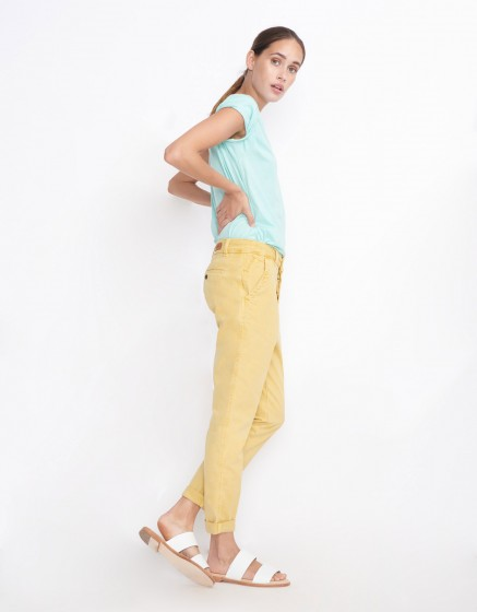 Chino Trousers Scott - MUSTARD