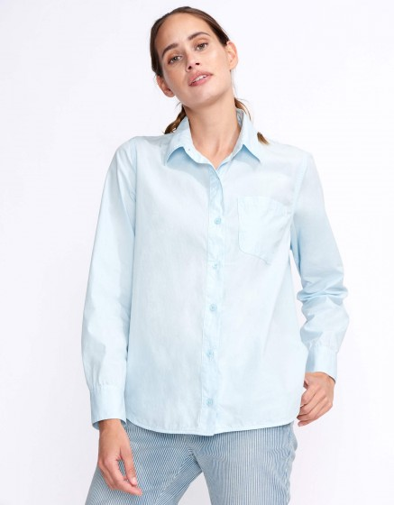 Shirt Carl Color - BLEU PALE