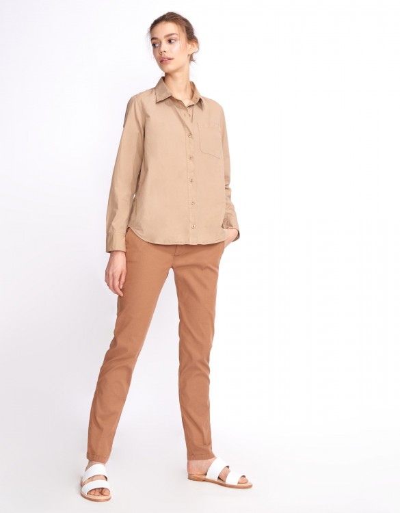 Shirt Carl Color - MOKA
