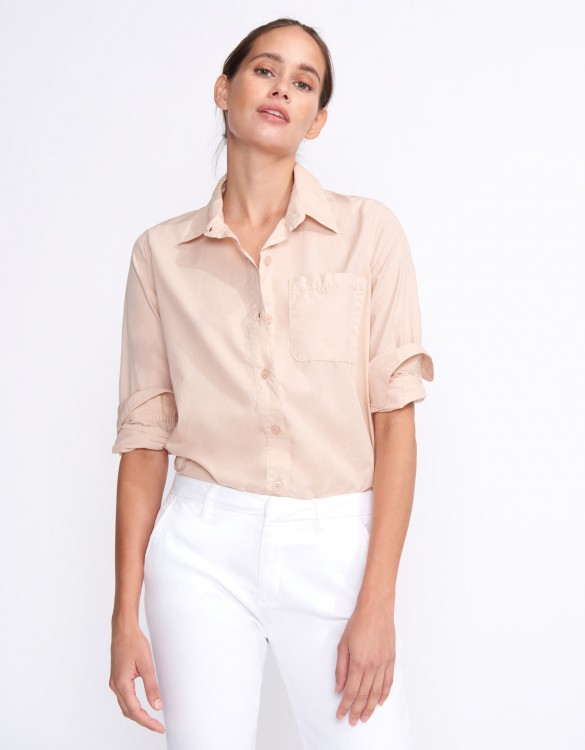 Chemise Carl Color - SMOKY PINK