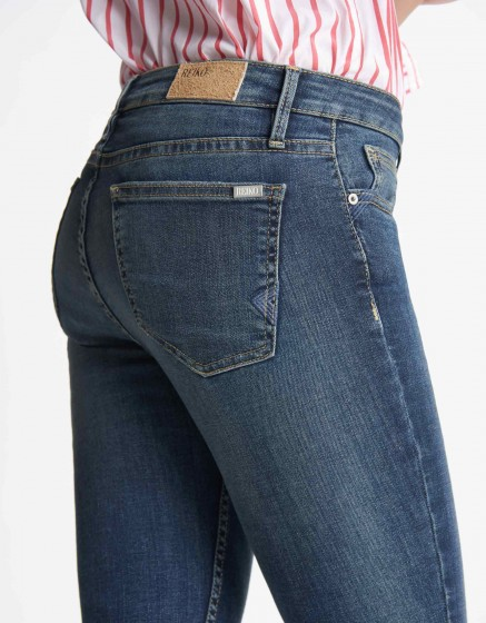 Skinny cropped jean Lily - DENIM B-80