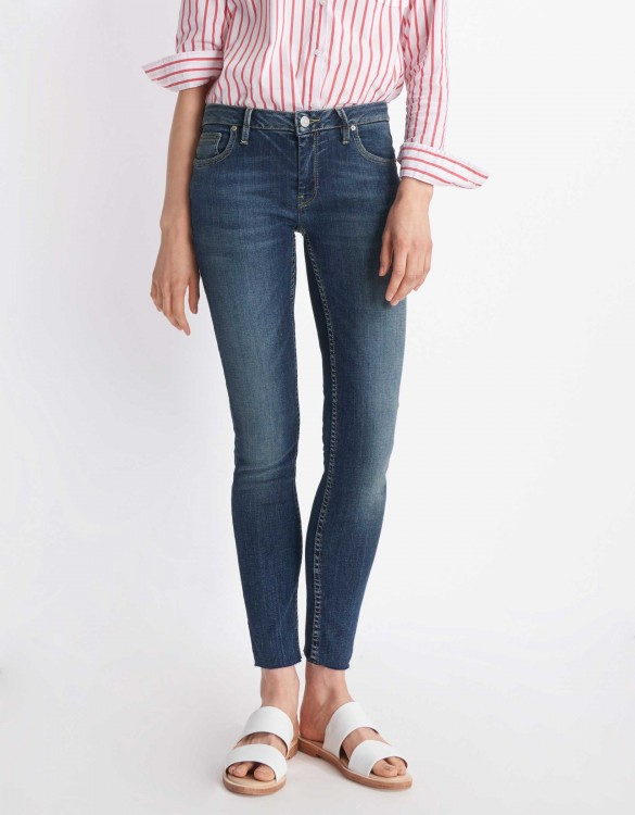 Jean skinny cropped Lily - DENIM B-80
