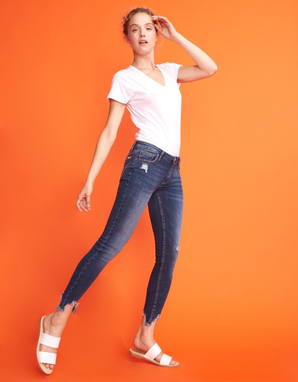 Skinny cropped jean Lily - DENIM M-53