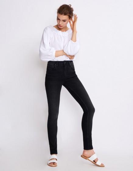 High waist jean Arnel - DENIM BL-12