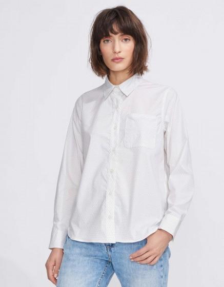 Shirt Carl Pinted - SILVER PALM