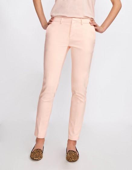 Cigarette Trousers Lizzy Color - CLOUD PINK