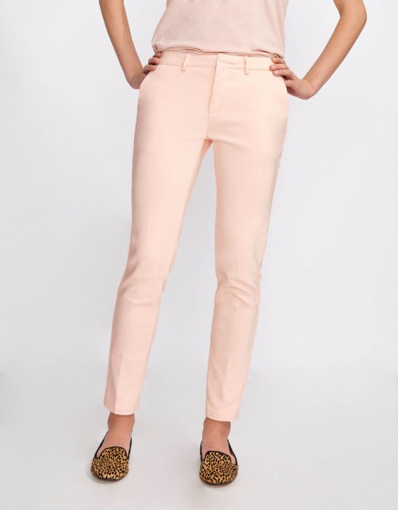 Pantalon Cigarette Lizzy Color - CLOUD PINK