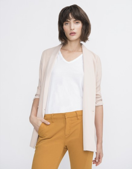 Blazer jacket Victoire - SMOKY PINK